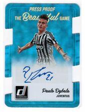 Paulo DYBALA 2016-17 DONRUSS The Beautiful GAME PRESS PROOF #11/99 AUTO RC