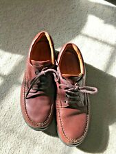 Ecco Comfort Men's Shoes Leather - Burgundy Size 9 USA/42
