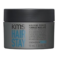 KMS HAIRSTAY Molding Pomade 3.0 oz / 90 ml provides strong hold non-sticky hair