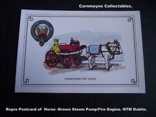 Repro Postcard of Horse-Drawn  Steam Pump/Fire Engine.NTM Dublin. AH9228.