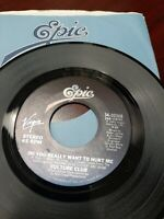 45 Record Culture Club Do You Really Want to Hurt Me VG Free Shipping
