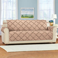 Diamond Ruffle Upholstered Furniture Protector