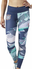 Reebok Crossfit Lux Womens Long Training Tights - Blue