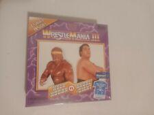 Funko WWE Wrestlemania III T-Shirt Sz Large Hulk Hogan Andre the Giant