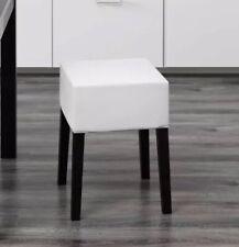 IKEA NILS COVER denim Stool cover Blekinge White slipcover New sealed package