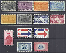 1925-1971 US Airmail Special Delivery Certified Lot of 13 MH E14-E23 CE1-2 FA1*