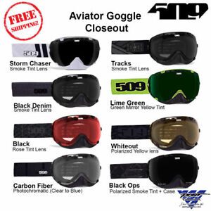 509 Aviator Snowmobile Goggle Closeout