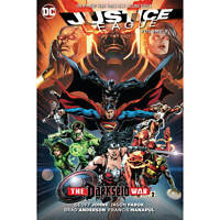 DC Comics - Justice League Hard Cover Vol 08 Darkseid War Part 2 - Comics #S1