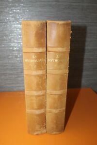 (165) La mythologie 2 tomes numérotés 1960 / Edy Legrand Mario Meunier