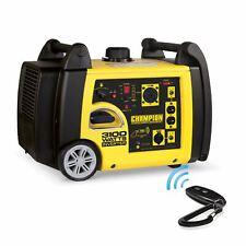 Champion 75537i 3100-Watt RV Ready Portable Inverter Generator with Wireless Rem