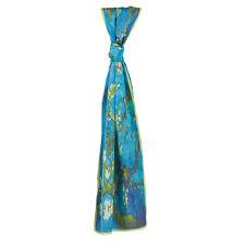 Van Gogh Silk Scarf - Almond Blossom