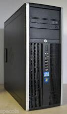 HP Elite 8200 Tower Intel Core i7-2600 3.40GHz 8 GB DDR3 500GB HDD Win 7 WiFi