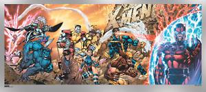 X-Men #1 20th Anniversary FOIL Variant Art Poster Print x/200 36x16 Not Mondo