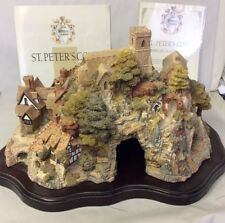 "LilliPut Lane ""St. Peter's Cove"" Signed, w/ Box, Coa, and Deed"