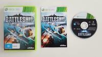 Mint Disc Xbox 360 Battle Ship Battleship - Free Postage