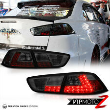 2008-2017 Lancer Evolution EVO X GSR MR 4B11 Smoke JDM LED Tail Light Lamp Turbo