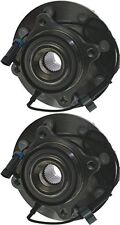Hub Bearing for 2010 GMC Sierra 2500 HD Fit ALL TYPES Wheel-Front Pair