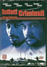 Istinti criminali (1997) DVD NUOVO SIGILLATO James Belushi Dennis Quaid Tupac Sh