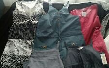 Lot of 5 maternity tops and dress, size small/medium NWT
