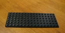 Lego Lot Black Brick 6X16 Thin Plate #3027