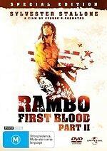 Rambo: First Blood Part II * NEW DVD * (Region 4 Australia)