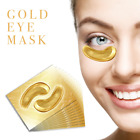 GOLD COLLAGEN EYE MASK PEEL OFF WRINKLE ANTI AGING PUFFY TREATMENT MASK UK SELL
