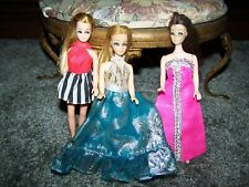 Vintage Mattel Dawn Topper ~ Doll In The Middle Turq. Dress~ Lot G