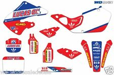 Graphic Kit Honda CR 125/250 Decal Backgrounds Sticker CR125 98-99 CR250 97-99 L