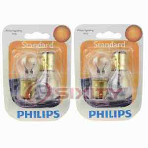 2 pc Philips Parking Light Bulbs for Ford Anglia Club Consul Country Sedan bk