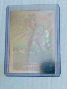 1991 DC Comics Inc. 1992 Series1 Superman Hologram Card Rare #DCH8