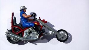 Vintage Britains Motorcycle No. 9677 Long Fork Chopper - Boxed