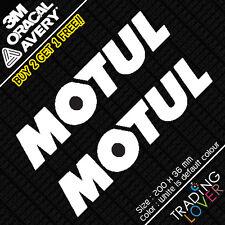 2 x Motul Engine Transmission Oil Sticker Vinyl Slivia Accord EP3 s2000 JDM