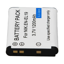 EN-EL19 ENEL19 Battery Fit for Nikon Coolpix S2500 S100 S2600 S3100 S3200 S3300