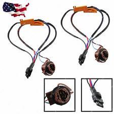 2x 3157 4157  Load Resistor Fix Hyper Flash For Switchback LED Turn Signal Light