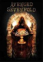 """AVENGED SEVENFOLD Rock flag/ Tapestry/ Fabric Poster A7X """"Golden Arch""""   NEW"""