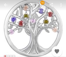 Fits Ginger Snaps Family Tree SNAP Interchangeable JEWELRY Button charm 18mm USA