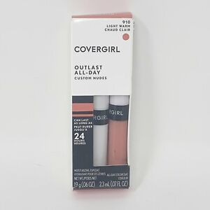 CoverGirl Outlast All-Day Nude LipColor & Moisturizing Top Coat 910 Light Warm