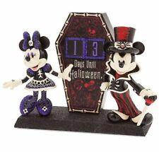 Disney Parks Mickey & Minnie Figure Halloween  Countdown