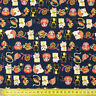 Japanese Lucky Cat Fortune 100% Cotton Fabric Fat Quarter Quilting FQ #0081