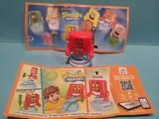 Kinder JOY Spongebob Squarepants FF352X Slowakei + Bpz
