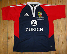 British Lions 2005 Tour Rugby Union away shirt jersey match Détail Broderie M