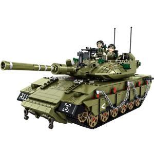 Panlos 632009 Israeli Merkava MK4 Main Battle Tank Building Block Set 1731pcs