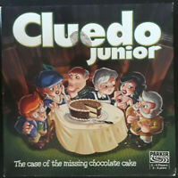 Cluedo Junior - The Case of the Missing Chocolate Cake - Parker, Used,Complete