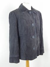 PER UNA corduroy jacket Size 14 brown lined 100% cotton Marks and Spencer M&S
