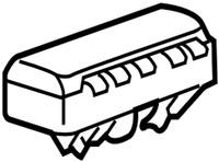 73960-47010 Toyota Air bag assy, instrument panel passenger w/o door 7396047010,