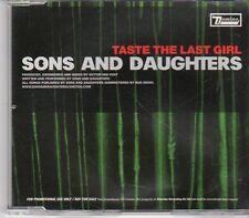 (EN40) Sons And Daughters, Taste The Last Girl - 2005 DJ CD