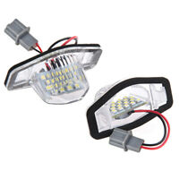 2x Error Free Led License Plate Light Lamp For Honda Crv Fit Jazz Crosstou X2N2