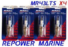 AC MR43LTS Bougie D'Allumage Set Pour 3.0L Mercruiser,Volvo,Omc 1996 - Up Rep :