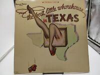 THE BEST LITTLE WHOREHOUSE IN TEXAS~MCA-3049~1978~VINYL LP~VG+ cover VG+