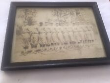 Vintage 1900's Baseball Team Photo W/ Frame